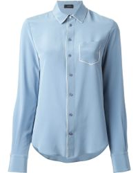 Joseph Patch Pocket Shirt - Lyst