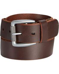 Levi's Hand Bar Tack Textured Roller Belt - Lyst