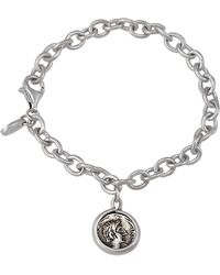 1884 Collection - Legacy Silver Ottaviano Coin Charm Bracelet - Lyst