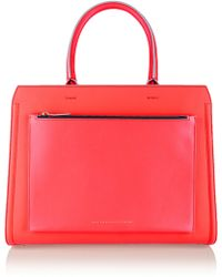 Victoria Beckham The City Victoria Large Leather Tote - Lyst