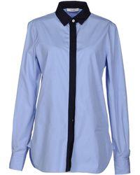 Celine Blue Shirt - Lyst