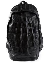KTZ - Snakeskin Backpack - Lyst