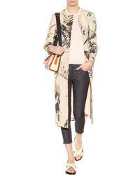 Marni Cotton-Linen Printed Coat - Lyst