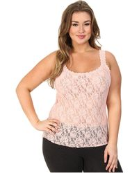 Hanky Panky Plus Size Signature Lace Unlined Cami - Lyst