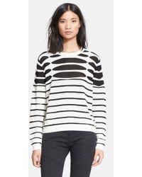 Each x Other Open Stripe Knit Sweater - Lyst