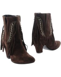 Julie Dee Ankle Boots - Lyst