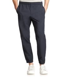 Theory Wimso Slim-Fit Jog Pants blue - Lyst