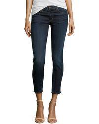 Hudson Perforatedtrim Stretch Jeans - Lyst