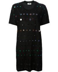 Sonia By Sonia Rykiel Embellished Sweater Dress - Lyst