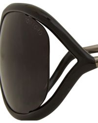Tom Ford - Black Jennifer Cutout Sunglasses - Lyst