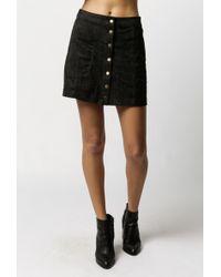 Azalea | Oriana Snap Front Skirt | Lyst