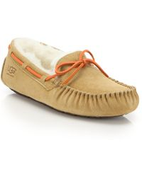 Ugg | Dakota Suede Pure Moccasin Slippers | Lyst