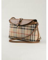 Burberry Classic Check Shoulder Bag - Lyst