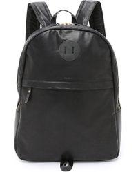 Billykirk Black Leather Backpack - Lyst