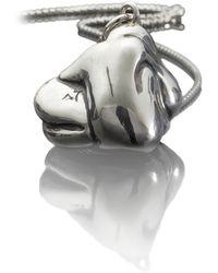 Antonella Tanzini | Knot Pendant Silver | Lyst