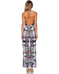 Clover Canyon - Swirling Scarf Jumpsuit - Lyst