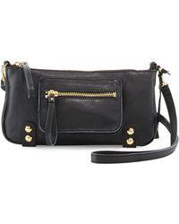 Linea Pelle   Dylan Zip Leather Crossbody Bag   Lyst
