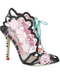 Sophia Webster Flamingo Sandal - Lyst