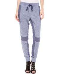 BCBGMAXAZRIA Skype Drawstring Pants - Purple