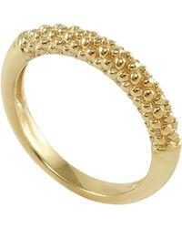 Lagos 18K Caviar Ring - Lyst