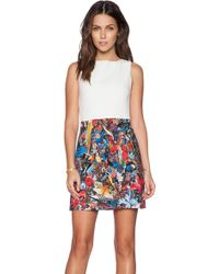 Alice + Olivia Molly A-Line Dress - Lyst