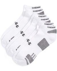 Under Armour Heatgear 'Trainer' No-Show Socks - Lyst