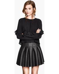 H&M Bellshaped Skirt - Lyst