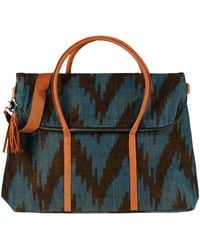 Mercado Global Handbag - Blue