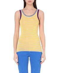 Sandro Striped Knitted Top - Lyst