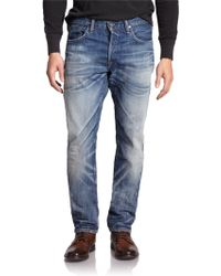 Polo Ralph Lauren Varick Slim Straight-Leg Jeans - Lyst