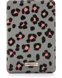 Kate Spade Cyber Cheetah Mini Ipad Folio Hardcase Big Smoke - Lyst