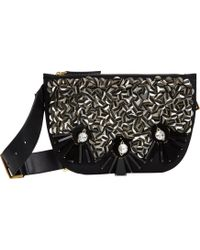 Marni Embellished Belt Bag - Lyst