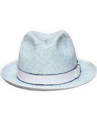 Barbisio - Straw Panama Hat - Lyst