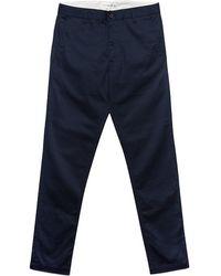 Universal Works Navy Twill Aston Pant blue - Lyst