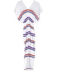 Lemlem Lilac Kedame Patio Dress - Lyst