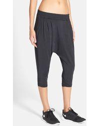 Nike 'Avant' Dri-Fit Harem Capri Pants - Black