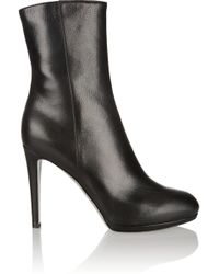 Sergio Rossi Lola Leather Boots - Lyst