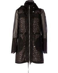 Moncler 'Doumerc' Sheer Jacket - Lyst