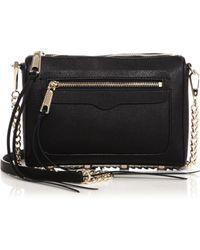 Rebecca Minkoff Avery Leather Crossbody Bag - Lyst