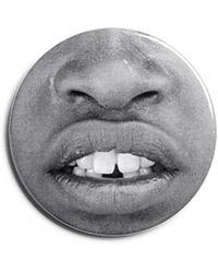 Givenchy Mouth Badge - Grey