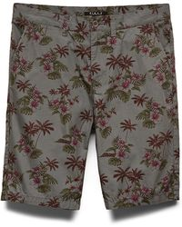 Forever 21 Floral Print Woven Shorts - Lyst