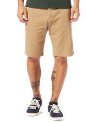 Michael Stars - Slim Fit Stretch Cotton Shorts - Lyst