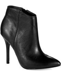 Steve Madden Grand Leather Boot - Lyst