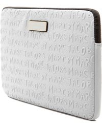 Marc By Marc Jacobs Adults Suck Neoprene 13 Computer Case Silver Fox - Lyst