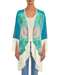 Athena Procopiou - Grecian Blue Lover Fringed Cover Up - Lyst