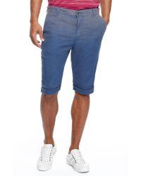 Boss Orange Stimoshorts  Slim Fit Stretch Cotton Blend Shorts - Lyst