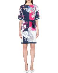 Etro Silk Floral Dress - Lyst