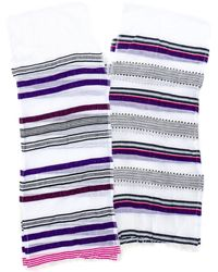 Lemlem Lemlem Rucha Split Cover Up In Purple purple - Lyst