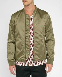 Acne | Khaki Selo Light Bomber Jacket | Lyst