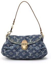 Louis Vuitton Monogram Denim Mini Pleaty Handbag - Lyst